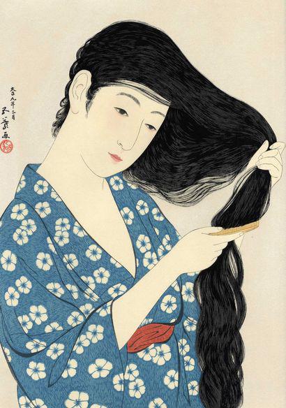 Hashiguchi Goyo  Combing M1 Watanabe