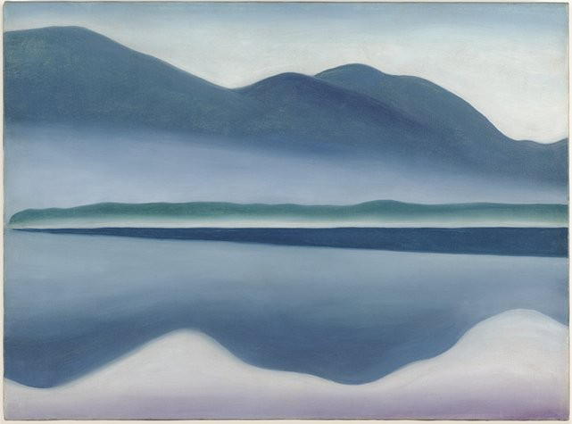 georgia okeeffe-Lake-George