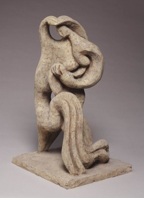 Mother and Child I 1949 by Jacques Lipchitz 1891-1973
