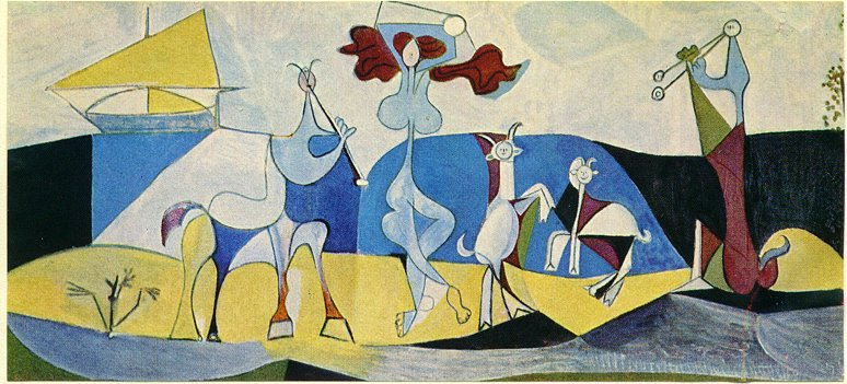 Picasso La joie de vivre