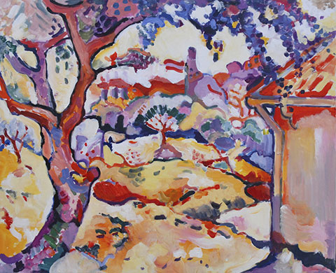 Georges-Braque_Olive-tree-near-Estaque-1906