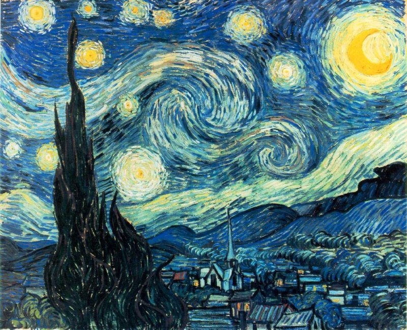 Vincent van Gogh_starry-night