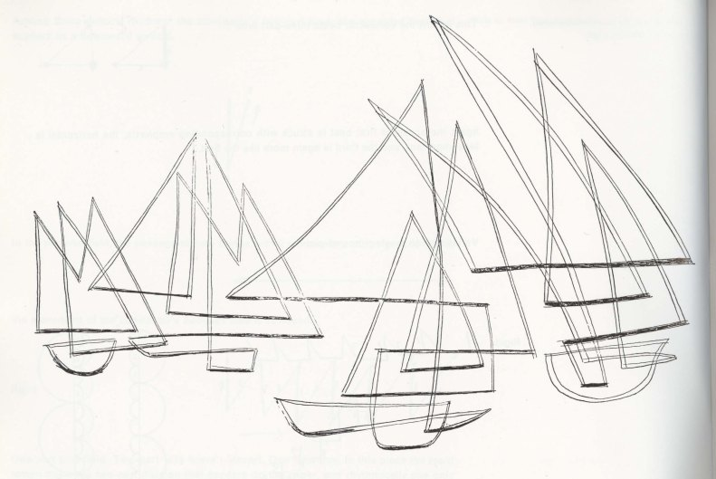 paul_klee_seilboats in gentle motion