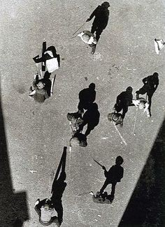 Alexander Rodchenko, Street From Above, 1925
