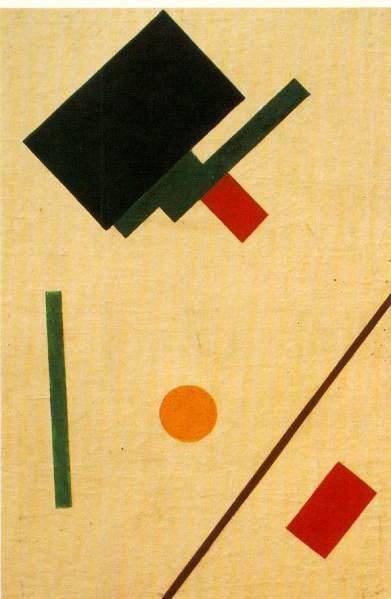 Kazimir Malevich_Suprematist composition - 1915