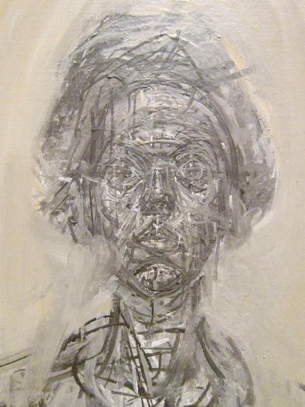 Alberto Giacometti-Bust of Annette