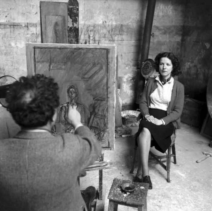 Sabine Weiss_Annette femme de Alberto Giacometti, 1954