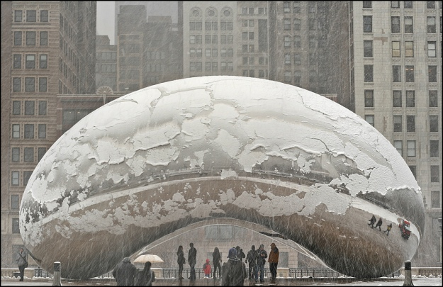 Anish Kapoor_Cloud Gate