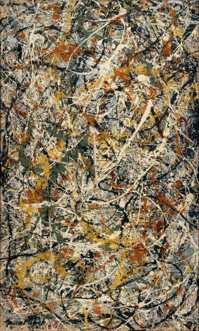 Jackson Pollock_Number 3