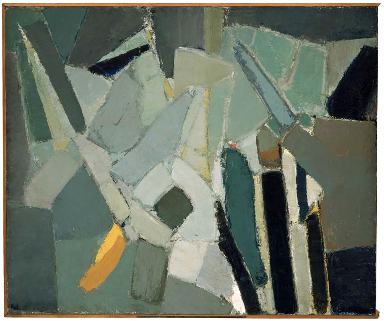Nicolas de Stael_Rue Gauguet _1949