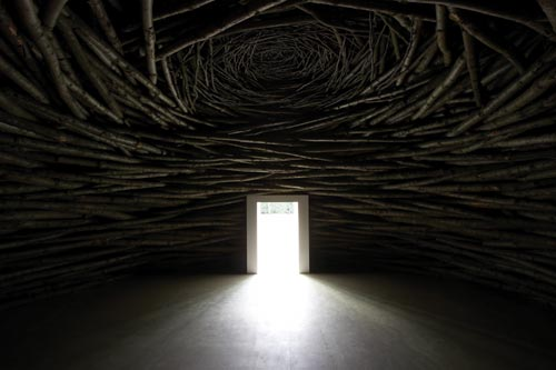 Andy Goldsworthy_Wood Room, 2007