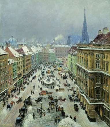THEODOR VON HÖRMANN, The Neuer Mark in Vienna, 1895