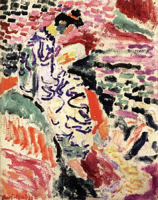 Henri Matisse_Woman in a Japanese Robe