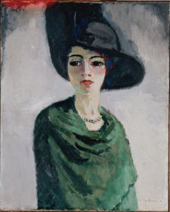 Kees van Dongen_Woman in a Black Hat