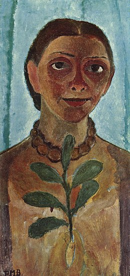 Paula Modersohn-Becker_Self-Portrait with Camellia Branch